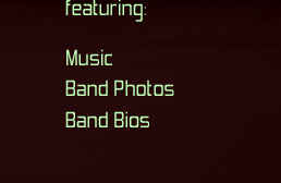 featuring: Music, Band Photos & Band Bios